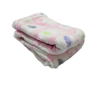 Cutie Pie Pink Elephants Baby Blanket